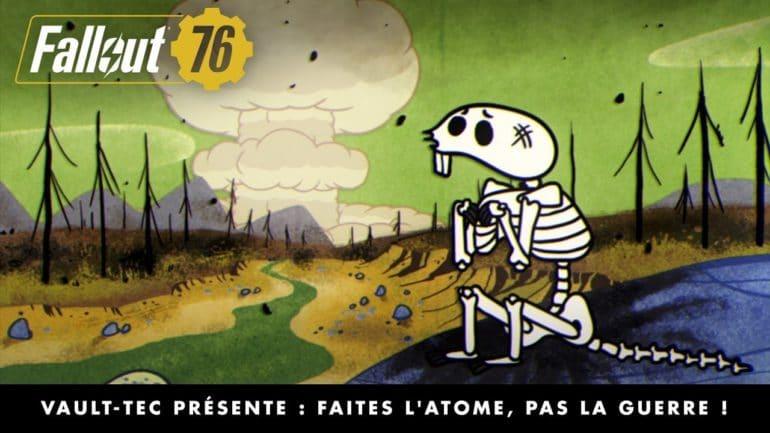 Fallout 76 Faites l'atome pas la guerre