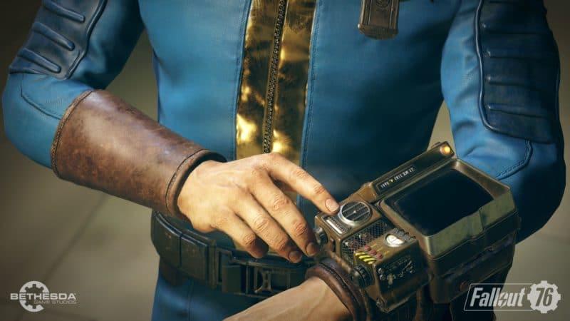 Fallout 76 habitant de l'abri 76