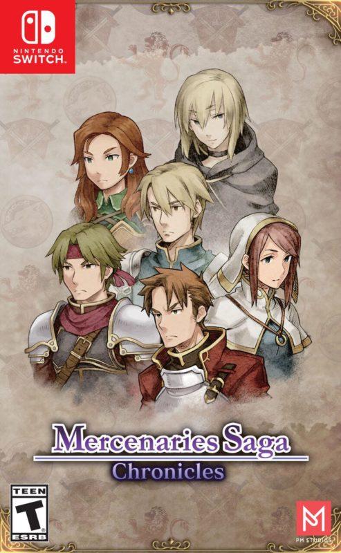 Mercenaries Saga Chronicles - couverture