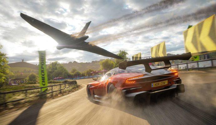 Microsoft Forza Horizon 4 Avion Voiture