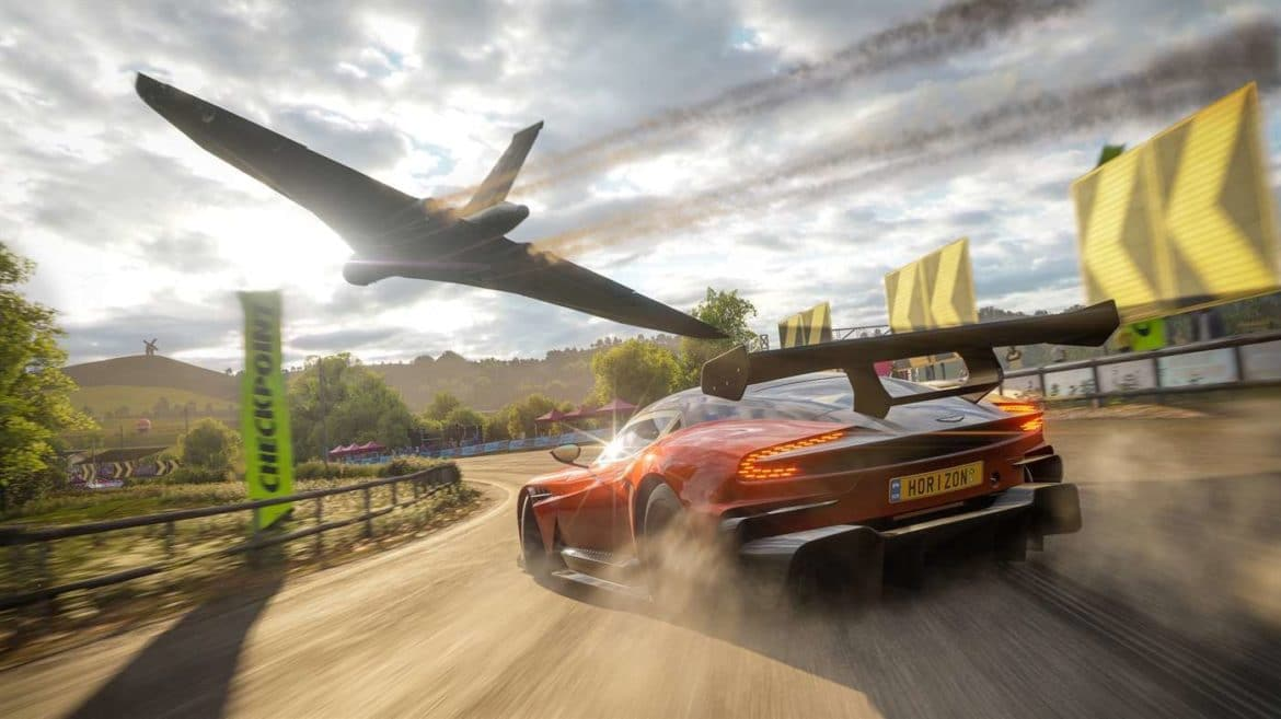 Microsoft Forza Horizon 4 Avion Voiture