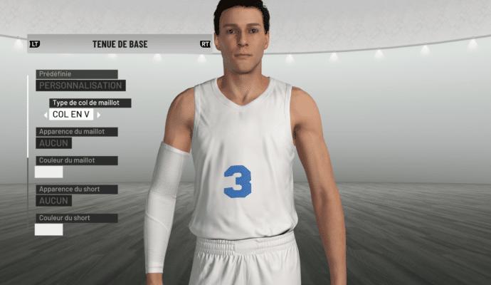 NBA 2K19 - création de maillot