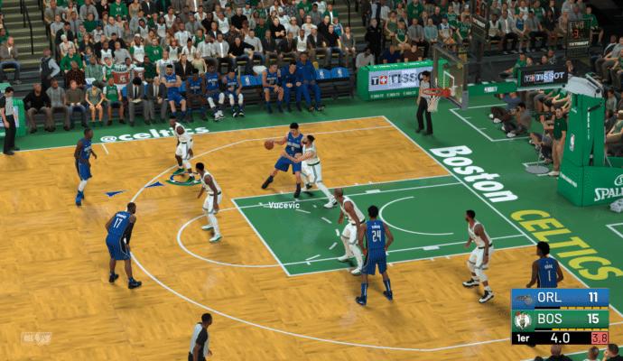 NBA 2K19 - defense