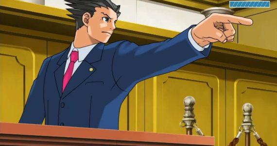 Phoenix Wright: Ace Attorney Trilogy - Objection de Phoenix Wright