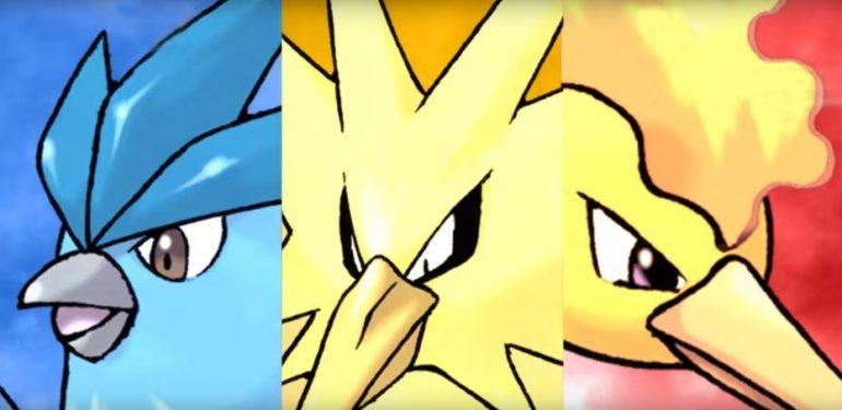 Pokémon Let's Go! - Artikodin Electhor Sulfura