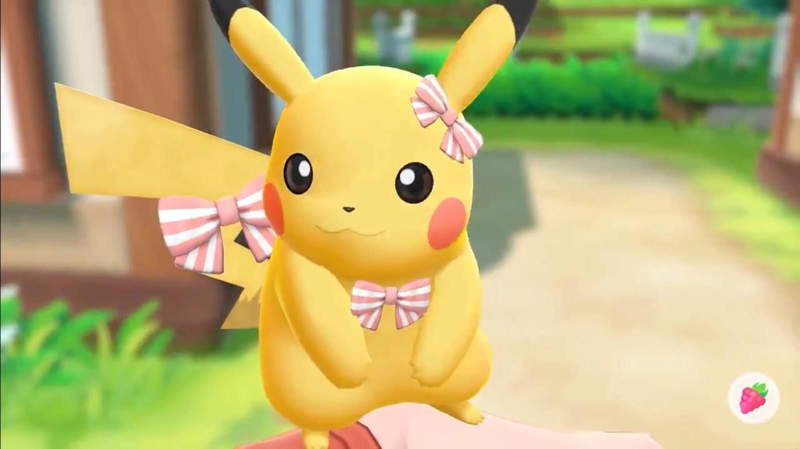 Pokémon Let's Go - Pikachu est noeud-noeud