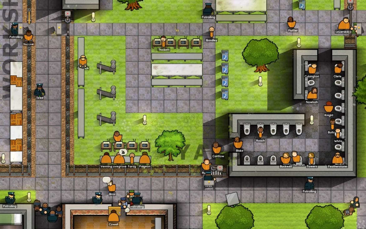 Prison Architect - Infrastructures