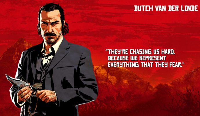 Red Dead Redemption 2 - Dutch Van Der Linde