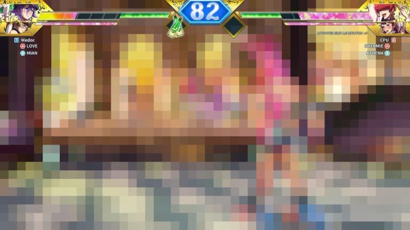SNK Heroines Tag Team Frenzy - Attaque floue