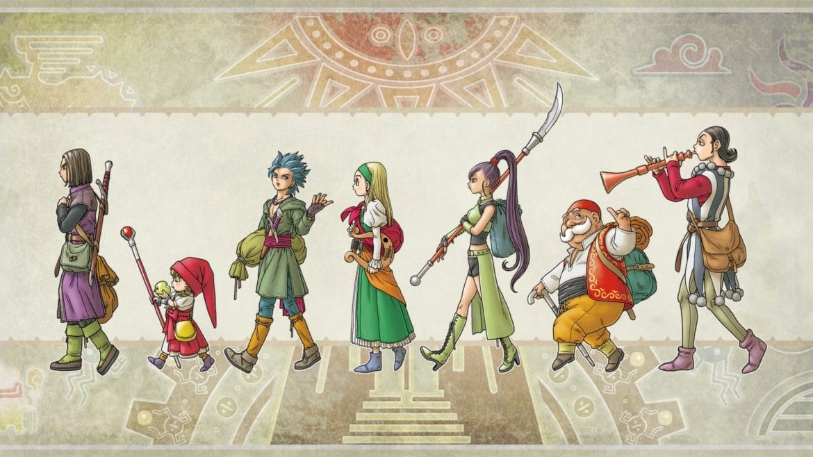 Test Dragon Quest XI - personnages
