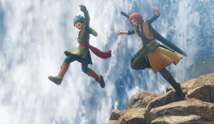 Test Dragon Quest XI - Saut dans le vide