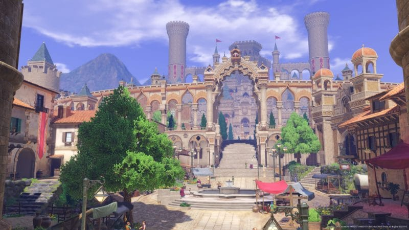 Test Dragon Quest XI - Château