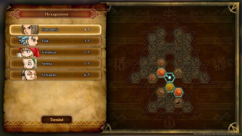 Test Dragon Quest XI - arbre de compétences