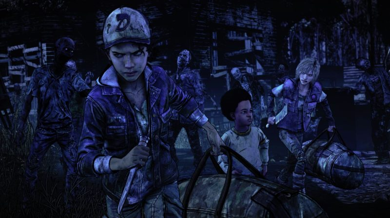 The Walking Dead l'Ultime Saison Clementine et AJ contre les zombies