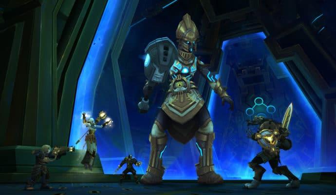 World of Warcraft: Battle for Azeroth Uldir combat
