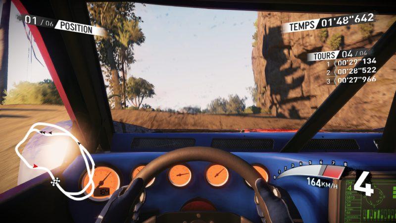 v-rally 4 buggy cockpit