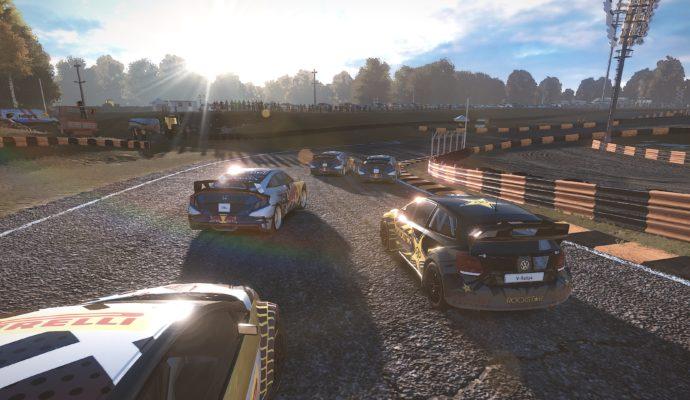 v-rally 4 rallycross course