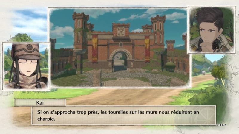 Valkyria Chronicles 4 Mission Fort Kerst
