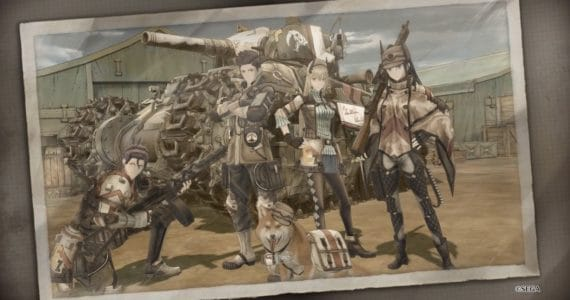 Valkyria Chronicles 4 photo de groupe