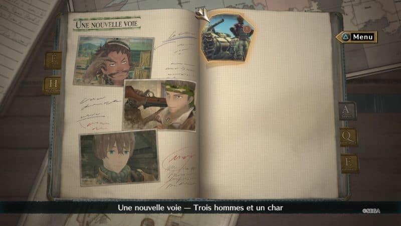 Valkyria Chronicles 4 mode livre