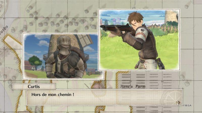 Valkyria Chronicles 4 Histoire d'Escadron Curtis