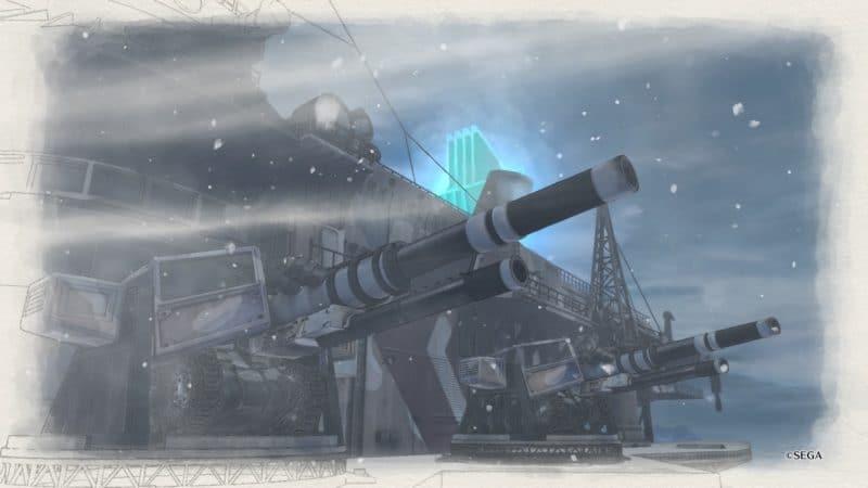 Valkyria Chronicles 4 appui feu du Centurion