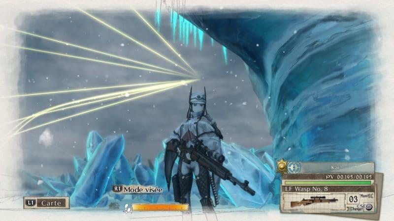 Valkyria Chronicles 4 sniper