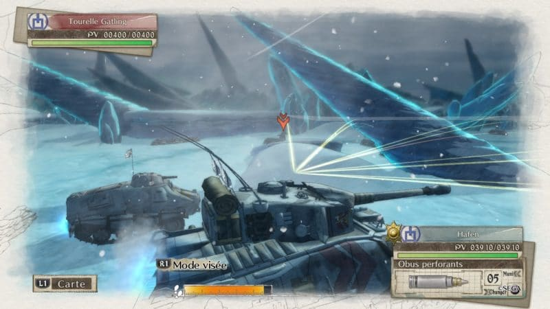 Valkyria Chronicles 4 tank