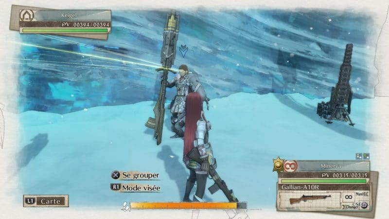 Valkyria Chronicles 4 regrouper