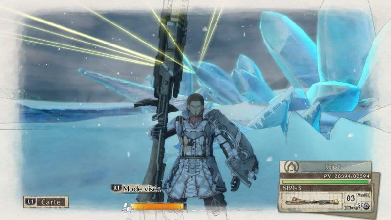 Valkyria Chronicles 4 lancier
