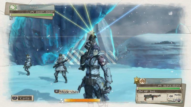 Valkyria Chronicles 4 soldat d'assaut