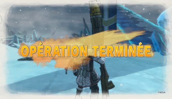 Valkyria Chronicles 4 mission terminée