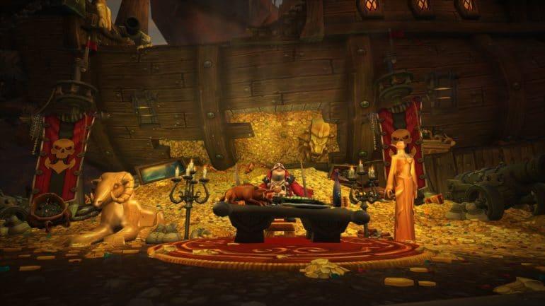 World of Warcraft: Battle for Azeroth trésor pirate