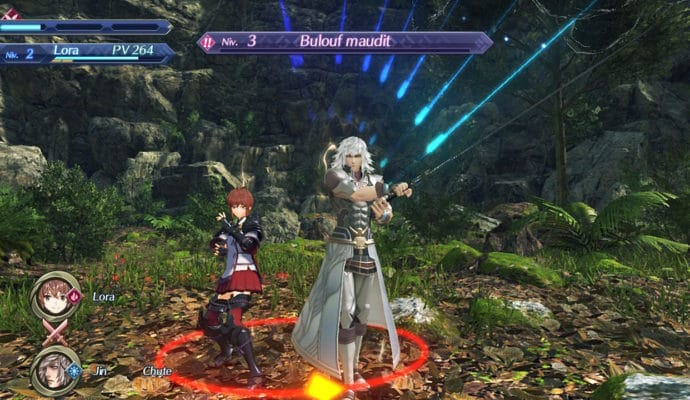 Xenoblade Chronicles 2: Torna - The Golden Country - Lora et Jin Art niveau 4