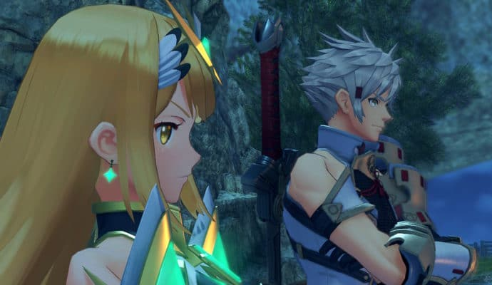 Xenoblade Chronicles 2: Torna - The Golden Country - Mythra et Addam