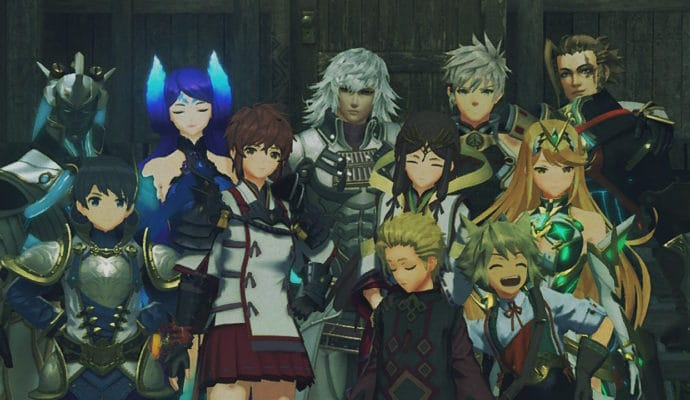 Xenoblade Chronicles 2: Torna - The Golden Country - photo de groupe