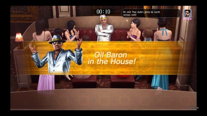 Yakuza Kiwami 2 Un Oil Baron sauvage apparaît