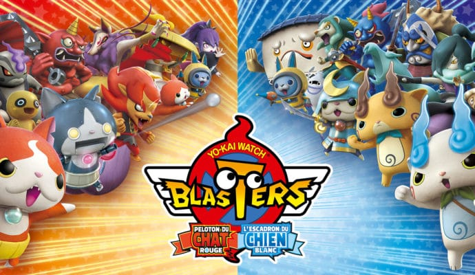 Yo-kai Watch Blasters - deux versions