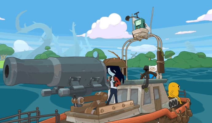 adventure time pirates de la terre de ooo canon