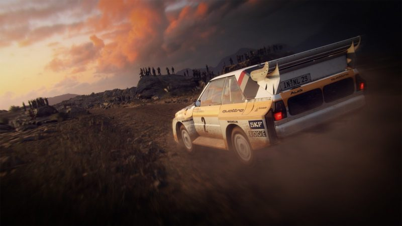 dirt rally 2.0 soleil couchant