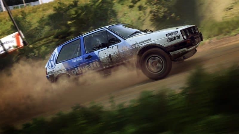 dirt rally 2.0 old volkswagen