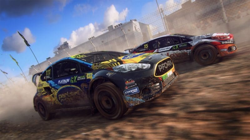 dirt rally 2.0 course