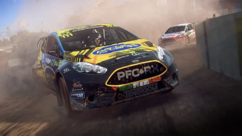 dirt rally 2.0 dérapage