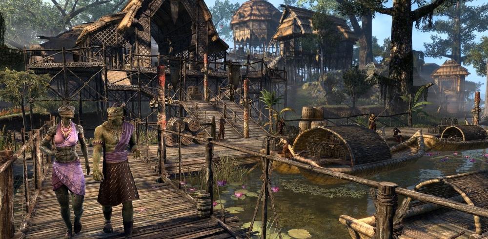 elder scrolls online Murkmire ville