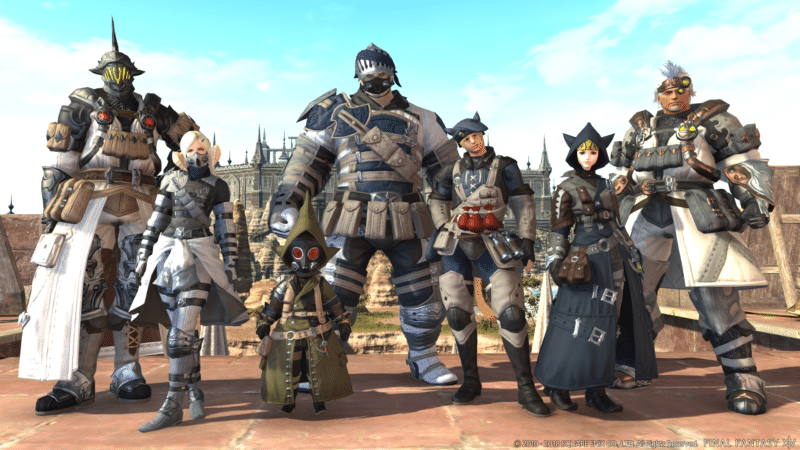 final fantasy XIV - aventuriers