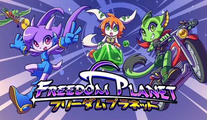 Freedom Planet héroïnes logo