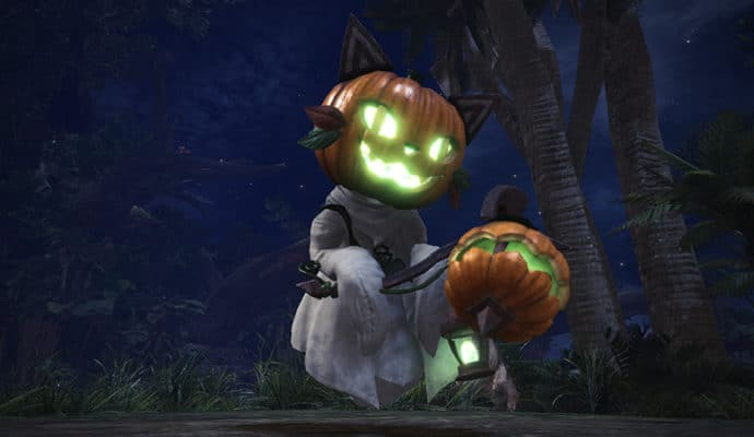 monster hunter world festival automne mialloween