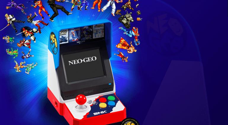 Neo Geo Mini Borne