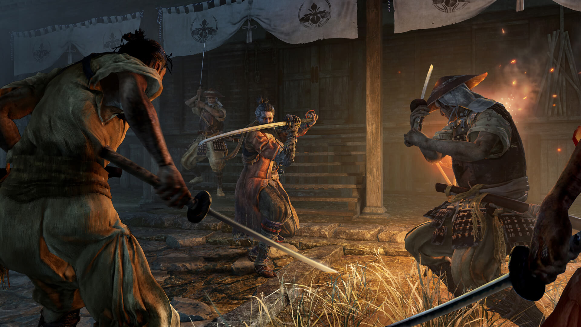 Sekiro: Shadows Die Twice combat