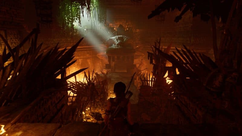 shadow of the tomb raider temple exploration